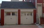 Farmhouse style garage doors