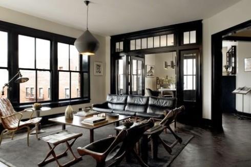 The Shade Shop Interior Inspiration Black Window Frames