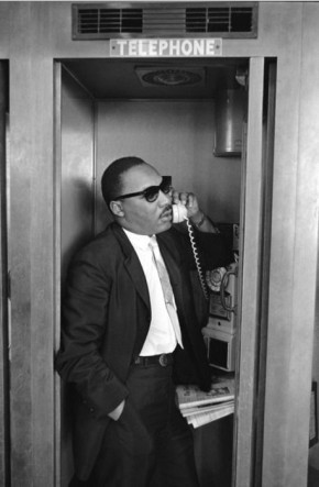 MLK on the phone