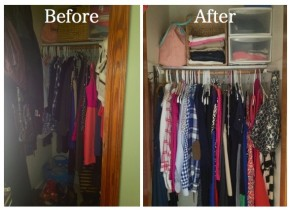 Closet Organization Tips From The Loud and Clear