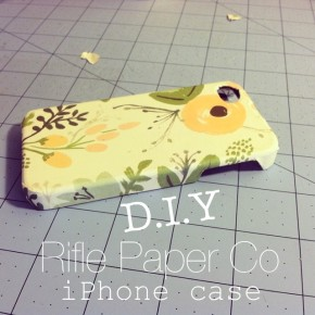 DIY Rifle Phone Case